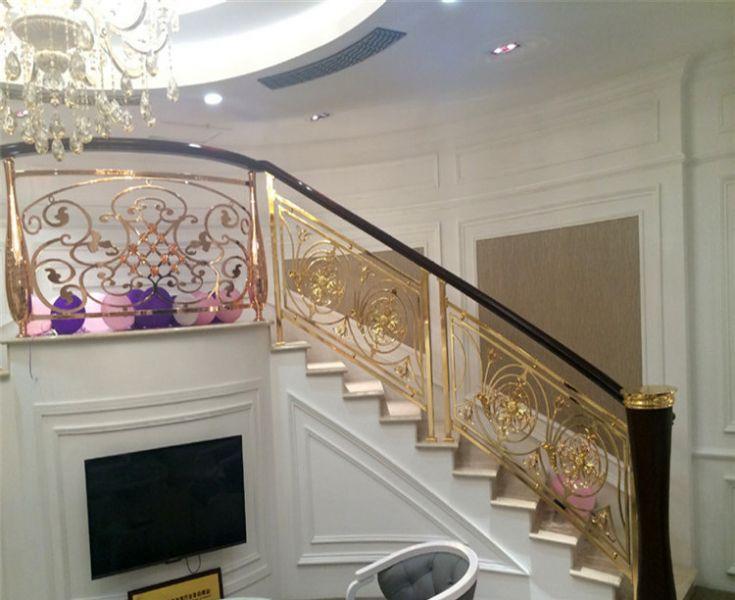 cau thang sat my nghe hinh 2 - 100+ mẫu lan can-cầu thang sắt nghệ thuật cổ điển đẹp xuất sắc
