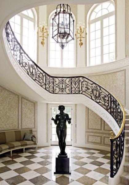 cau thang sat my nghe hinh 4 - 100+ mẫu lan can-cầu thang sắt nghệ thuật cổ điển đẹp xuất sắc